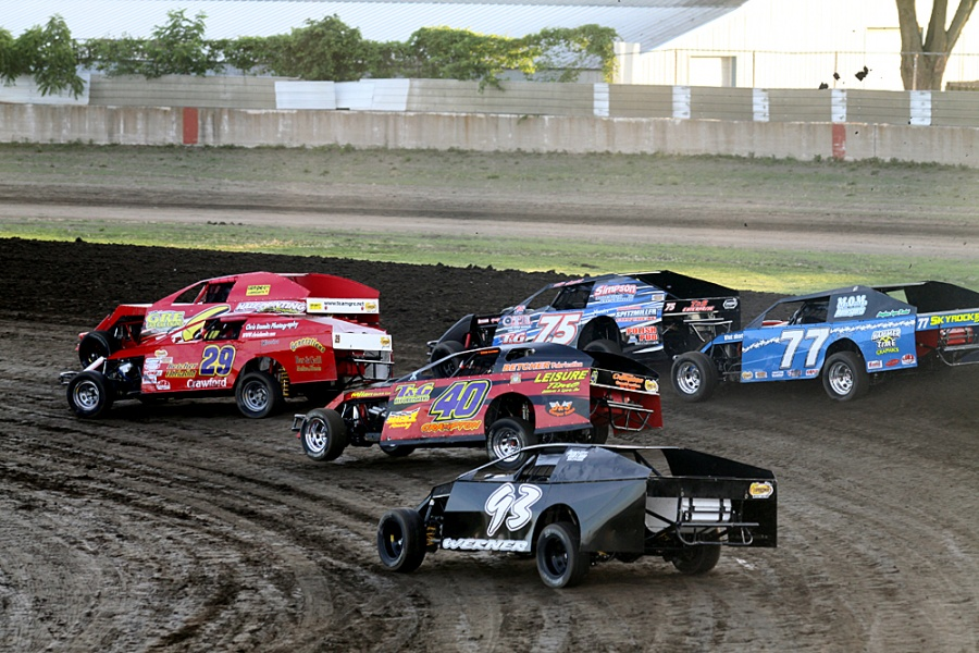 Modified Stock Car Racing Of The S And S