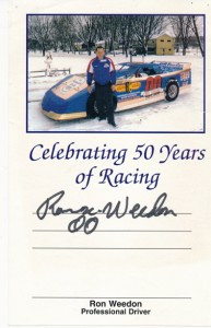 Ron Weedon 50 Years